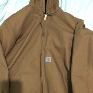 Tan Carhartt Winter Jacket